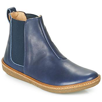 鞋子 女士 短筒靴 El Naturalista CORAL 蓝色