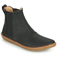 鞋子 女士 短筒靴 El Naturalista CORAL 黑色
