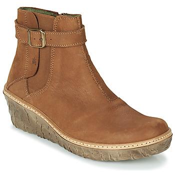 鞋子 女士 短靴 El Naturalista MYTH YGGDRASIL 棕色