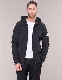衣服 男士 衛衣 adidas Performance 阿迪達斯運動訓練 DU1137 黑色
