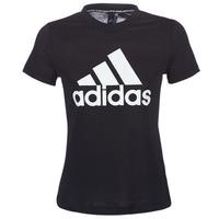 衣服 女士 短袖体恤 adidas Performance 阿迪达斯运动训练 DY7734 黑色