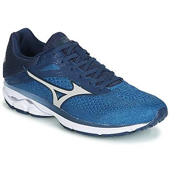 鞋子 跑鞋 Mizuno 美津浓 WAVE RIDER 23 蓝色