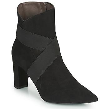 鞋子 女士 短靴 Perlato 11327-CAM-NOIR 黑色