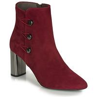 鞋子 女士 短靴 Perlato 11312-CAM-ROUGE 红色