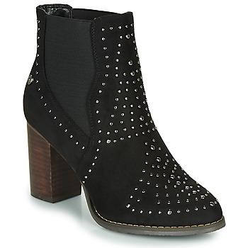 鞋子 女士 短靴 Xti 波尔蒂伊 LOVALO 黑色