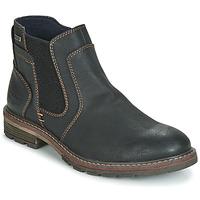 鞋子 男士 短筒靴 Tom Tailor 汤姆裁缝 MARTY 黑色