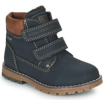 鞋子 男孩 短筒靴 Tom Tailor 汤姆裁缝  蓝色