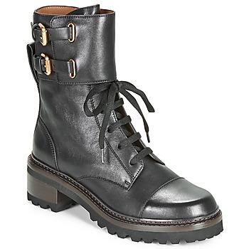 鞋子 女士 短靴 See by Chloé MALLORY 黑色