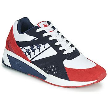 鞋子 男士 球鞋基本款 Kappa 卡帕 GARKO 白色 / 红色 / 黑色
