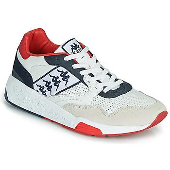 鞋子 男士 球鞋基本款 Kappa 卡帕 LUXOR 2 白色 / 红色