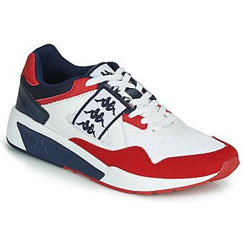 鞋子 男士 球鞋基本款 Kappa 卡帕 BARSEL 2 白色 / 紅色