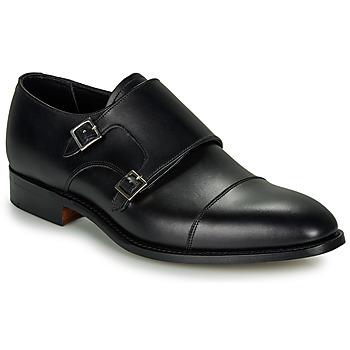 鞋子 男士 系带短筒靴 Barker FORD 黑色