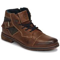 鞋子 男士 短筒靴 Bugatti ROLLAND 棕色