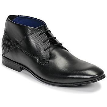 鞋子 男士 短筒靴 Bugatti ELVIS 黑色