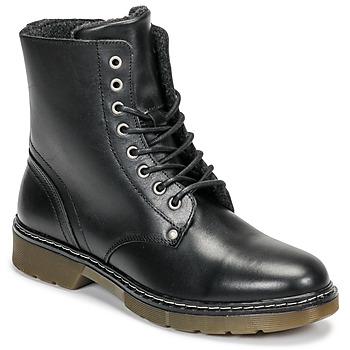 鞋子 女孩 短筒靴 Bullboxer AHC501E6LC-BLBLK 黑色