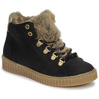 鞋子 女孩 高帮鞋 Bullboxer AIB504E6CA-BLCK 黑色