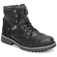 鞋子 男孩 短筒靴 Bullboxer AHA518E6L-BLCK 黑色