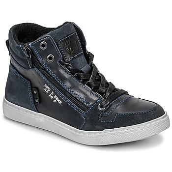 鞋子 男孩 高帮鞋 Bullboxer AGM531E6L-NGBLK 海蓝色