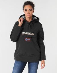 衣服 女士 棉衣 Napapijri RAINFOREST WINTER 黑色