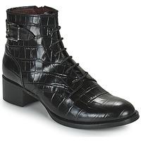鞋子 女士 短筒靴 MURATTI RIESEL 黑色