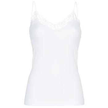 内衣  女士 汗衫, 背心 Pieces PCTOLOA 白色