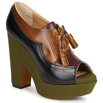鞋子 女士 高跟鞋 Rochas 巴黎罗莎 SHEZAN 多彩