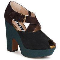 鞋子 女士 高跟鞋 Rochas 巴黎罗莎 NINFEA 棕色 / 蓝色