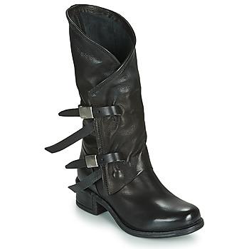 鞋子 女士 都市靴 Airstep / A.S.98 ISPERIA BUCKLE 黑色
