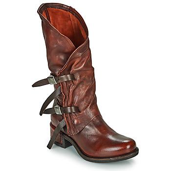 鞋子 女士 都市靴 Airstep / A.S.98 ISPERIA BUCKLE 红色