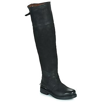 鞋子 女士 都市靴 Airstep / A.S.98 BRET HIGH 黑色