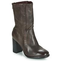 鞋子 女士 短靴 Airstep / A.S.98 FRESH ZIP 灰色 / Fonce