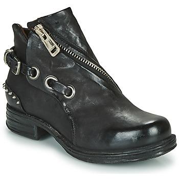 鞋子 女士 短筒靴 Airstep / A.S.98 SAINT EC CLOU 黑色