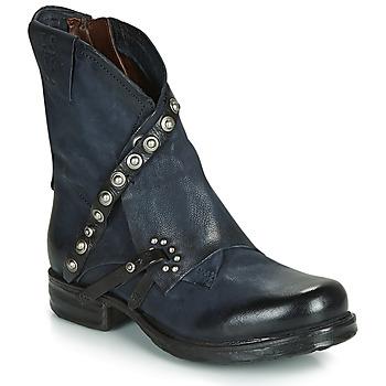 鞋子 女士 短筒靴 Airstep / A.S.98 SAINT EC RIVET 蓝色