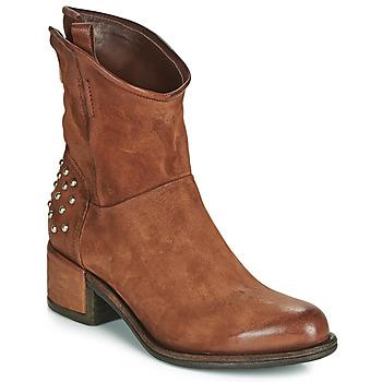鞋子 女士 短筒靴 Airstep / A.S.98 OPEA STUDS 驼色