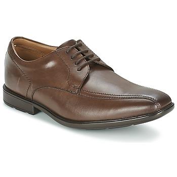 鞋子 男士 德比 Clarks 其乐 GOSWORTH OVER 棕色