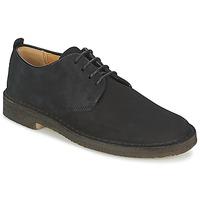 鞋子 男士 德比 Clarks 其乐 DESERT LONDON 黑色