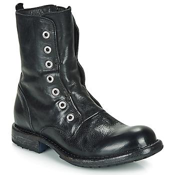 鞋子 女士 短筒靴 Moma CUSNA NERO 黑色