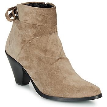 鞋子 女士 短靴 Regard RAKAF V3 CRTE VEL SILKY 米色