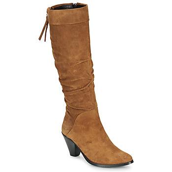 鞋子 女士 都市靴 Regard RAKAFOU V2 CRTE VEL SILKY 驼色