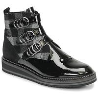 鞋子 女士 短筒靴 Regard ROCPOL V3 VERNIS 黑色