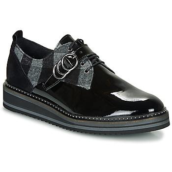 鞋子 女士 德比 Regard ROCSI V3 VERNIS 黑色