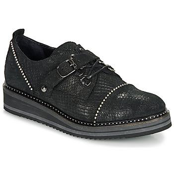 鞋子 女士 德比 Regard ROCTALOX V2 TOUT SERPENTE SHABE 黑色