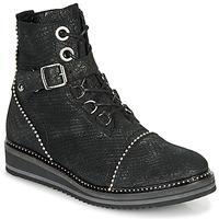 鞋子 女士 短筒靴 Regard ROCTALY V2 CRTE SERPENTE SHABE 黑色