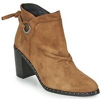 鞋子 女士 短靴 Philippe Morvan BATTLES V3 CHEV VEL 驼色