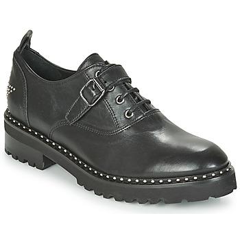 鞋子 女士 德比 Philippe Morvan DAILY V1 MAIA 黑色