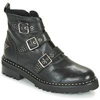 鞋子 女士 短筒靴 Philippe Morvan DRAFT V1 MAIA 黑色