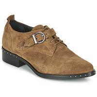 鞋子 女士 德比 Philippe Morvan SAND V4 CRTE VEL 驼色