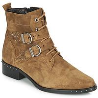鞋子 女士 短筒靴 Philippe Morvan SWAG V4 CRTE VEL 驼色