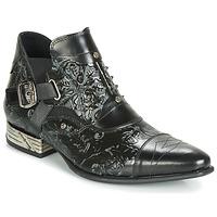 鞋子 男士 短筒靴 New Rock BRAVA 黑色