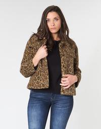 衣服 女士 夹克 See U Soon 9262153 Leopard